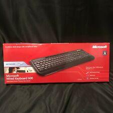 Microsoft Wired Keyboard 600 Black ANB-00001