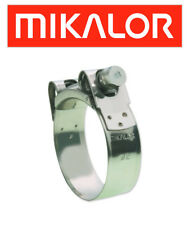 Aprilia Shiver 750 Gt rab00 2009 - 2013 Mikalor Inoxidable Escape abrazadera (exc515)