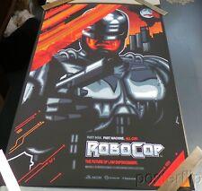 Robocop Standard Screenprint Poster Skuzzles James White N'd xx/165