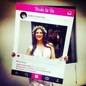 Hens Party Photo Booth Frame Prop (80 x 110 cm)