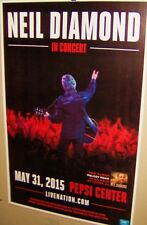 NEIL DIAMOND in Concert Show Poster Denver Colorado May 2015 Very COOL