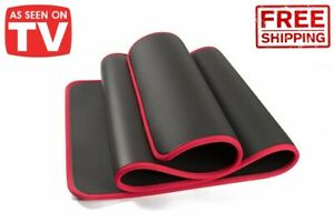 10mm Yoga Mat Pilates Exercise Non Slip Thick Pad Eco Friendly Work Out Fitness