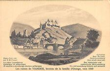 BR55115 Les Ruines de Vianden berceau de la famille d Irange belgium