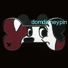Disney Pin WDW 2017 Hidden Mickey Series - *Disney Dog Bones* - Lucky!