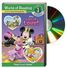 World of Reading Lvl1: 3in1 Listen Along Reader Disney's Love Collection (Pb/CD)