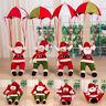 """Weihnachtsmann am Seil """"Santa Sky"""" Weihnachts Deko Weihnachten Figur Nikolaus~"""