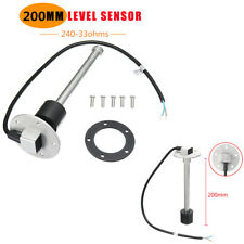 200mm Car Boat Fuel Level Sender Marine Fuel/Water Level Gauge Sensor 240-33ohms