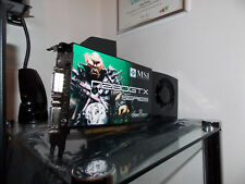 MSI - NVIDIA GeForce N280GTX - 1024MB - DVI GRAFIKKARTE