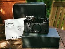 Fuji Fujifilm X-Pro1 X-Pro 1 16.3MP Digital Camera - Black with accessories