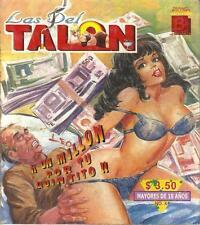 """LAS DEL TALON"" mexican comic SEXY GIRLS, SPICY HISTORIES #4"