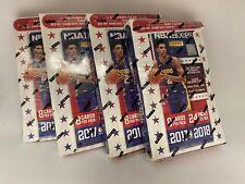 Lot of (4) 2017-18 Panini NBA Hoops Factory Sealed HOBBY Box - Jayson Tatum RC