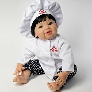 Paradise Galleries Reborn Asian Baby Doll - Bon Appetit, 4-Piece Doll Gift, 14+