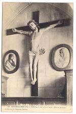 bouée , intérieur de la sacristie , christ ancien -
