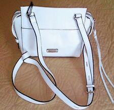 Joe's Jeans cross body white leather handbag NWT