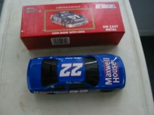 NASCAR 1/24 Club Bank Bobby Laboute  Maxwell House Ford Thunderbird 1 of 7,500