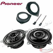 Car stereo rear speakers kit for PIONEER Fiat Grande Punto 2006-2014 with adapte