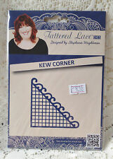 BRAND NEW & SEALED TATTERED LACE DIE- KEW CORNER  -DISCONTINUED - D392