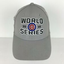 Chicago Cubs Baseball Cap 2016 World Series Postseason Sz Medium