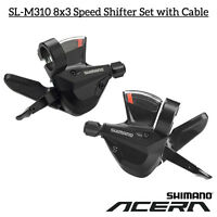 Shimano Acera SL-M310 Rapid fire Shift Lever 3x8-Speed Shifter Cable Set Trigger