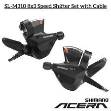 Shimano Altus Sl-m310 Right 8 Speed Rapidfire Plus Shifter Ergonomic Shape Lever