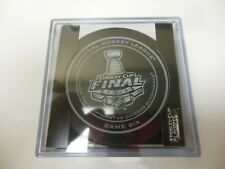 2015 STANLEY CUP PLAYOFFS GAME 6 COMMEMORATIVE HOCKEY SOUVENIR PUCK TAMPA CHICAG