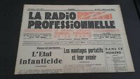 Journal Monthly La Radio Professional N°175 Jul-Aug 1949 ABE
