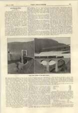 1915 Typical Bridges On Shanxi Railway