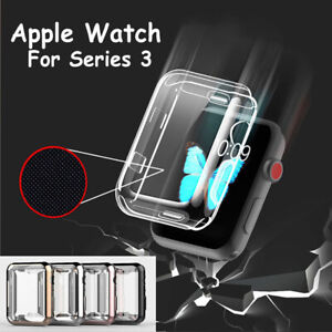 Apple WatchSerie Screen Protector Adjustable Replacement Silicone Sports Strap