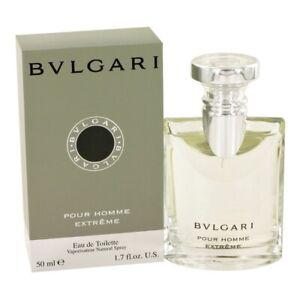 BVLGARI pour HOMME EXTREME * 1.7 oz (50 ml) EDT Spray * NEW & SEALED * Bulgari
