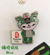 2008 Beijing Olympic Games Mascot NINI Pin Green New in package