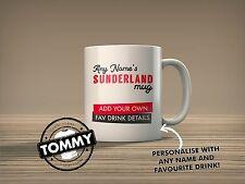 Sunderland Personalised Mug Secret Santa Football Gift Idea T-Shirt Tommy
