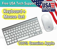 APPLE Bluetooth Wireless Keyboard A1314 & Magic Mouse A1296 Set - Excellent Cond