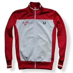 Track Top Tracksuit Jacket FRED PERRY 52 size. XL || Rare Mods Vintage Casuals