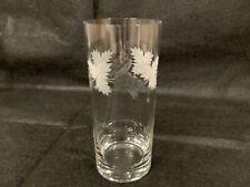 Rare Vintage Lausitzer Glas Kristall Stange German Beer Glass
