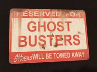 GHOSTBUSTERS Movie Metal Decor Home Art Wall Classic