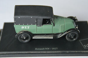 Miniatures 1:43 - Musée de la Poste. Renault NN  - 1927, sur socle.