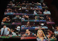 WWF / WWE RARE RAW IS WAR SIGNATURE 25 CARD COMPLETE SET - TRIPLE H, LITA, MORE