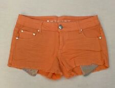 Celebrity Pink Juniors Melon Colored Jean Shorts Denim NEW NWT Size 5