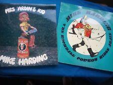 2 X VINYL ALBUMS - MIKE HARDING - MRS. 'ARDIN'S KID/ROCHDALE COWBOY RIDES AGAIN