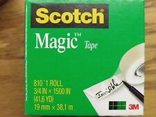 Jumbo Roll of SCOTCH BRAND Invisible Magic Tape - .75 x 1500 Inches