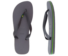Havaianas Brasil Sandal Thong -Steel Grey - Size 39/40; US Men 8; US Women 9-10