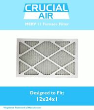 Replacement MERV 11 Allergen Air Furnace Filter 12x24x1