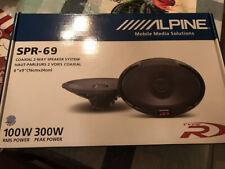 Alpine Spr-69 2-Way 6in. x 9in. Car Speaker