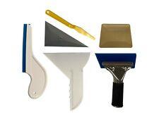 6PCS Window Tint Tools for Vehicle Car Film, Window Squeegee, Hard Card