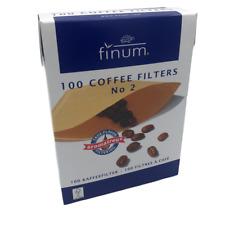 FILTRI CAFFE' AMERICANO MACCHINA CAFFE' D'ORZO MISURA 2 DA 100 PEZZI