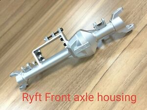 VITAVON CNC Alu Front axle housing for Axial RBX10 Ryft 4WD Bouncer Silver