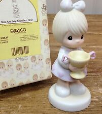 Precious Moments Figurine You are My Number One Loving Cup 520829 In Box Trophy