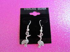 925 STERLING SILVER BIRD EARRINGS