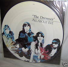 """ALL ABOUT EVE-DREAMER-4 TRACKS PICTURE DISC NEAR MINT UK rock 12"""""""