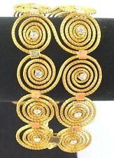 MAPAPALO bracelet en or végétal.  Plantaardig goud armband.